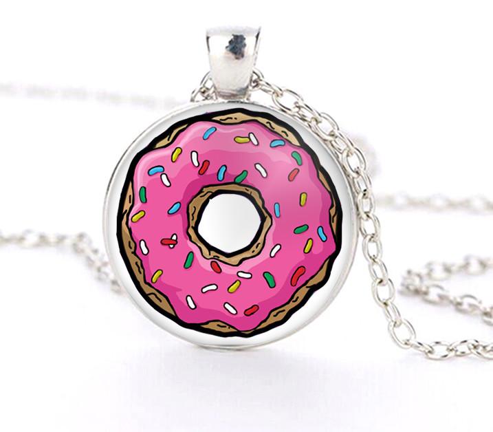 Кулон донат пончик