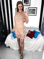 Женское шикарное кружевное платье (2 цвета), фото 1