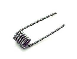 Спираль для бака, дрипки Fused Clapton Wire 0,5 Ом (Кантал А1- 2*0.4+0.2, 5 витков) готовая намотка