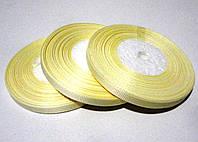 Лента репсовая  0.6 см  светло-бежевая