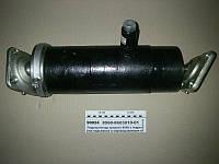 Гидроцилиндр прицепа НЕФАЗ-8560 с гидрозамед.  (3-х шток., 10т) ход 862мм (Орск)