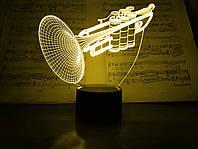 """3D ночник """"Труба"""" 3DTOYSLAMP, фото 1"""