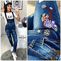 Комбинезон джинсовый женский 182