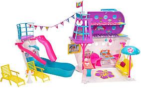 Набор Барби Круизный лайнер Корабль с 3 куклами Barbie Cruise Ship Playset with 3 Dolls