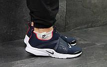 Кроссовки Nike air presto темно синие с белым, фото 3