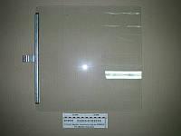 Стекло двери опускное 497х496 в сборе с накладкой-держателем (пр-ва КАМАЗ)