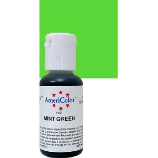 Краситель гелевый Americolor Зеленая-Мята 112