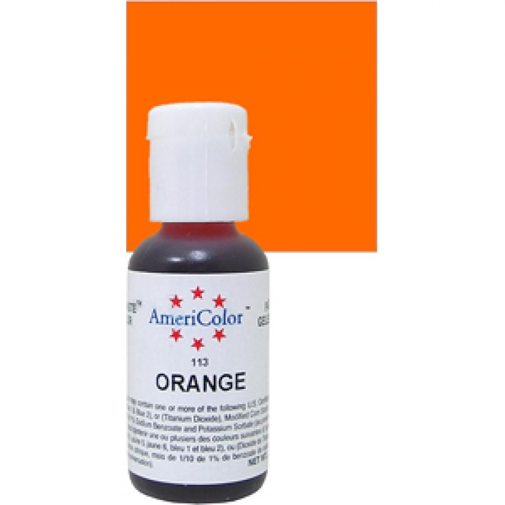 Краситель гелевый Americolor Оранжевый 113