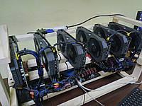 Майнинг ферма Asus Rog Strix Rx570 4gb 6карт