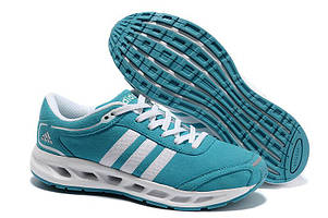 Кроссовки Adidas Running Shoes Blue White Aqua Cc. Solution Women