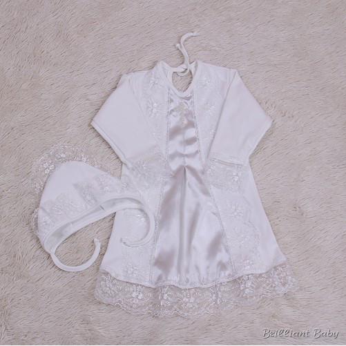 Крестильная рубашка Даниила (айвори)