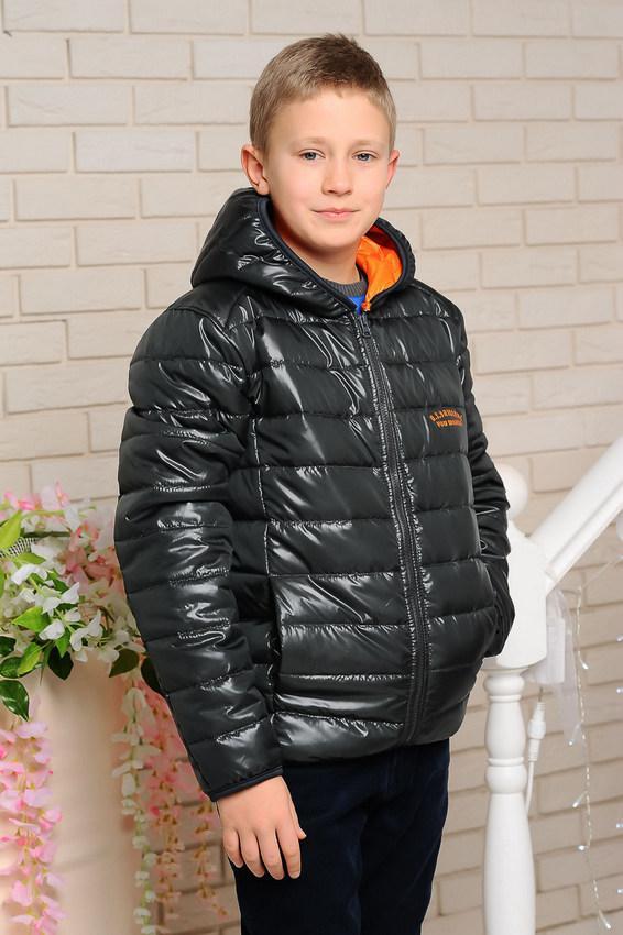 Детская демисезонная куртка Жанн на мальчика, р.146,152,158