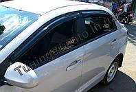 Дефлектори вікон (Вітровики) Zaz Forza (Sedan) 2008-2015, фото 1