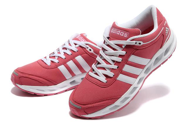 Adidas Running Shoes Pink White Cute Women Cc. Solution