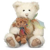 Мягкая игрушка Семейство мишек, мама с медвежонком Пуфом Melissa&Doug