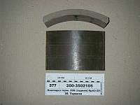 Накладка торм. 200 (задняя) КрАЗ-256,255,250,6510 (Трибо)