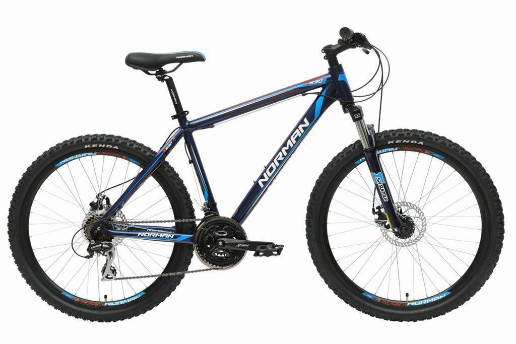 """Горный велосипед NORMAN X530 26"""" 20""""  Черный/Синий"""
