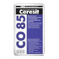 Ceresit CO-85, добавка со звукоизоляционным эффектом для штукатурок и стяжек, 25 кг