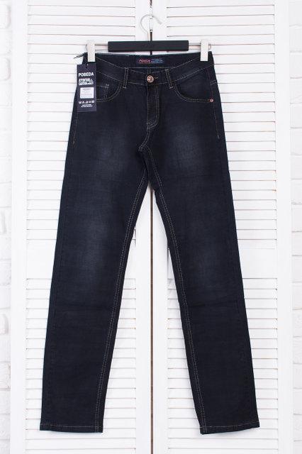 Чоловічі джинси Pobeda Чорні р. 40