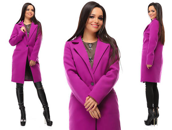 """Женское демисезонное кашемировое пальто """"VB"""" с карманами (5 цветов), фото 2"""