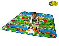 """Детский развивающий коврик Limpopo """"Большая жирафа и Парк развлечений"""" (LP004-150) 150*180"""