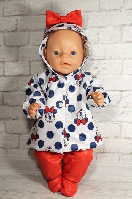 Набор одежды для куклы Baby Born Минни