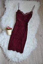 Кружевное платье на бретельках Topshop, фото 3