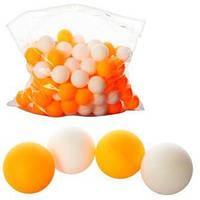 Тенісні кульки 40мм, PP, шовний, 1 упаковка 144шт