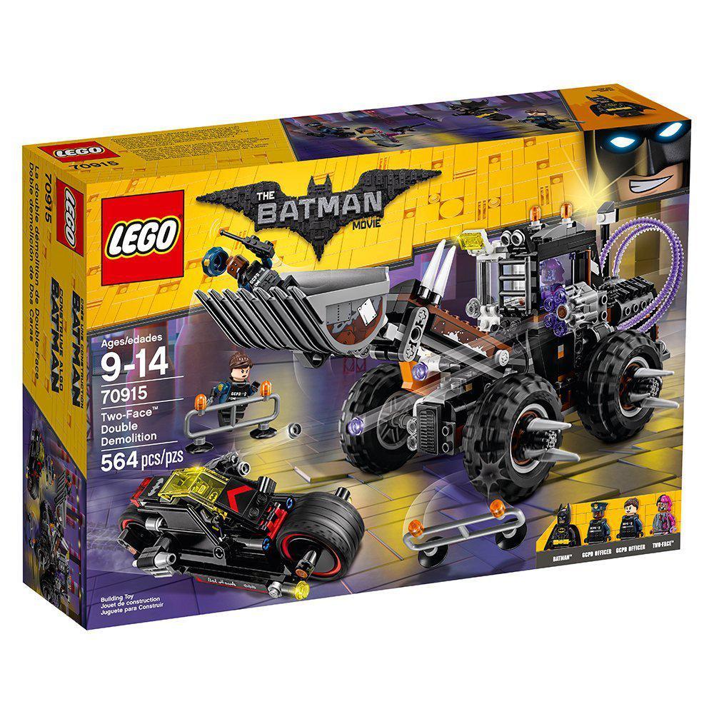 Конструктор LEGO 70915 Batman Movie Руйнівний напад Дволикого