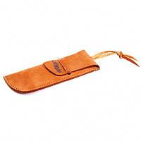 Чехол MAM кожаный для ножа, с кожаным темляком, №3001