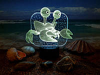 """3D светильник """"Краб"""" 3DTOYSLAMP, фото 1"""