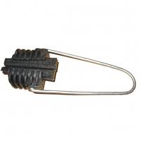 """Натяжной зажим Н10 для кабеля типа """"8"""" - с несущим элементом трос или проволока"""