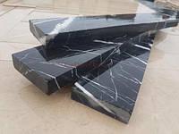 Мраморный камень облицовочный черный 2хL см