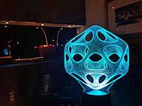 "3D светильник ночник  ""Вирус"" 3DTOYSLAMP, фото 1"