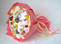 Букет сладкий из мармелада, зефира и Киндер яиц