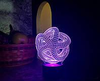 "3D светильник ""Звезда"" 3DTOYSLAMP, фото 1"