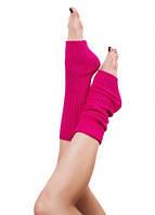 Гетры для танцев разогревочные 40-60-80 см сотверстием под каблук