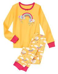 Пижама Радуга  с  аппликацией и  вышивкой (Размер 12Т)  Gymboree (США)
