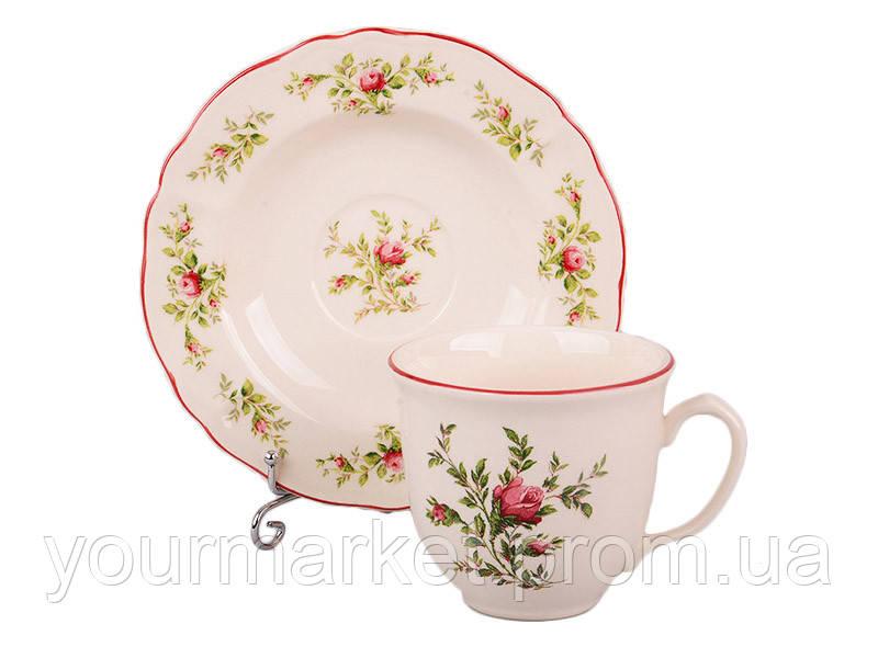 Набор чайный Английская роза 240 мл 2 пр Lefard 910-029