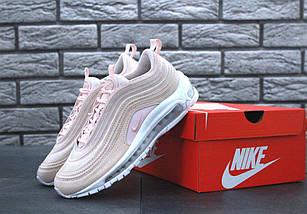 """Женские кроссовки Nike Air Max 97 """"Pink"""" Premium Рефлективные, фото 3"""