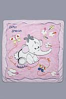 Одеяло детское розовое