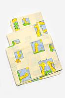 Комплект постельного белья в кроватку для новорожденных (унисекс)