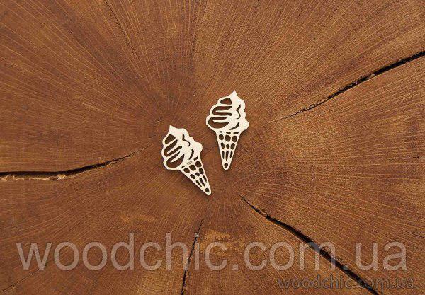 Чипборд Набор Мороженное в стаканчике