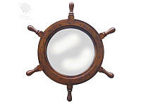 Зеркало Штурвал Sea Club, d-45 см (9043.V)