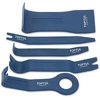 Комплект приспособлений для снятия облицовок панели 5 ед. Toptul JGAS0501