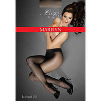 Колготы MARILYN EXCLUSIVE NAKED 20 2; 3; 4; 5, 2 visone, черный; glace; grigio; visone