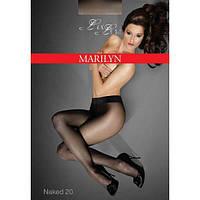 Колготы MARILYN EXCLUSIVE NAKED 20 2; 3; 4; 5, 3 visone, черный; glace; grigio; visone
