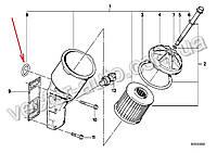 Кольцо уплотнительное адаптера фильтра масляного BMW 11421709513 двиг. M10,M40,M42,M43,M44 (OEM BMW)