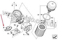 Прокладка адаптера фильтра масляного BMW 11427508971 двиг. N40,N42,N43,N45,N45N,N46,N46N (OEM BMW)