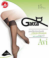 Гольфи GATTA AVI, в упаковці 2 шт однакового кольору, 15 ден